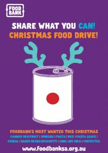 foodbank christmas drive